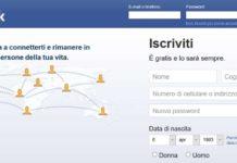 facebook iscrizione