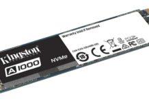 kingston PCIe NVMe A1000