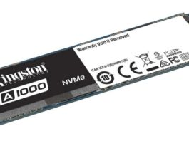 kingston PCIe NVMe A1000