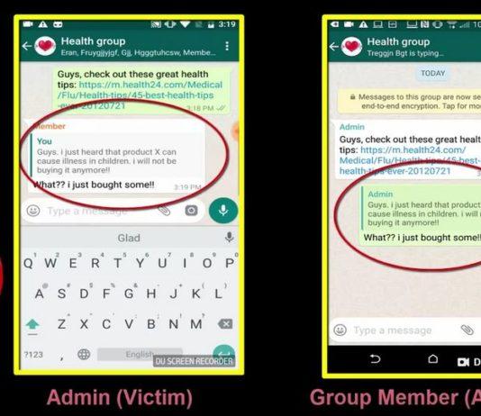bug di whatsapp
