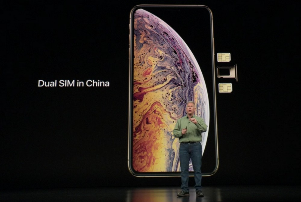 iphone xs china sim